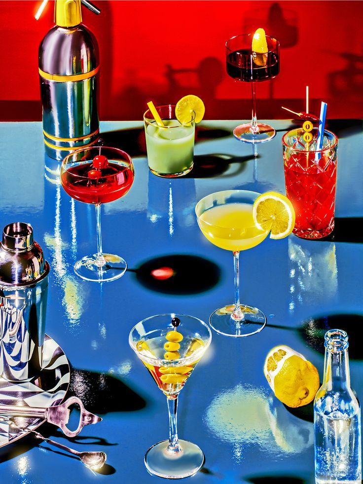 For Süddeutsche Zeitung Magazin drink issue. Cover + 4 intern.