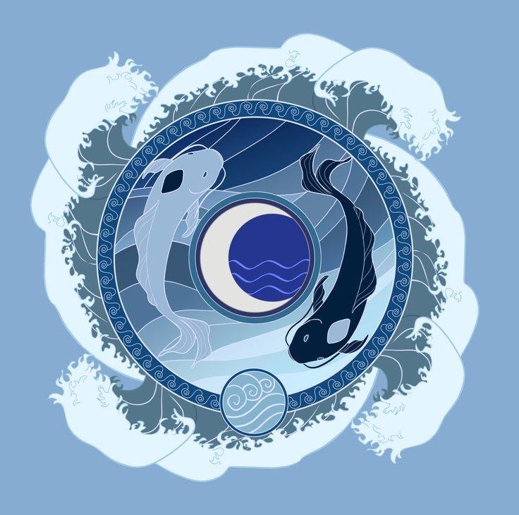 Los Maestros-Control Originales Los Espíritus Luna y Océano - Avatar el Ultimo Maestro Aire/la Leyenda de Korra