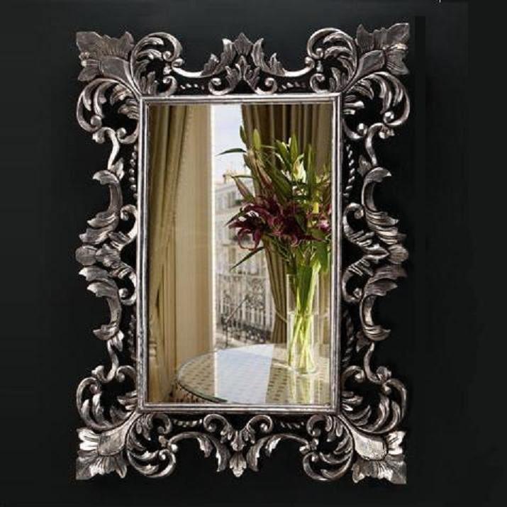 Espejo de Marta en plata envejecida en www.decolomas.com  150€