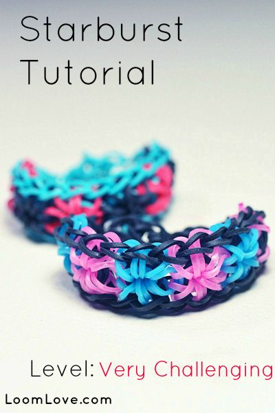 how to make loom bands with stand