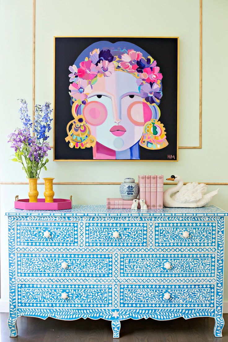 Hayley Mitchell art 726 best Colorful Rooms