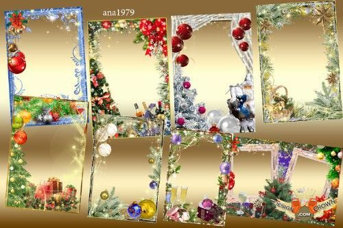 Frames New Years And Eve Borders