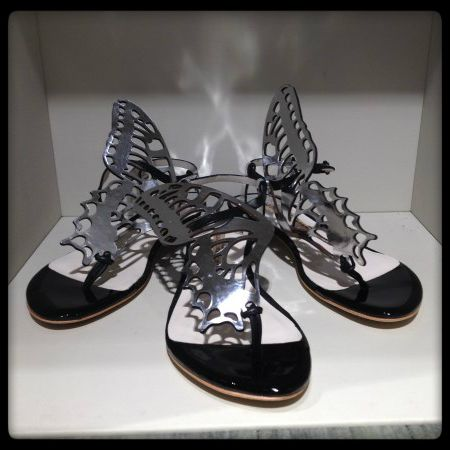 Sophia Webster #infradito #sandal #shoes #butterfly #SpringSummer #FolliFollie #collection