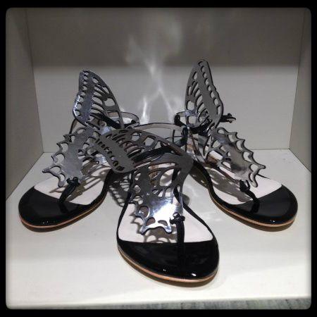 Sophia Webster #infradito #sandal #shoes #butterfly #SpringSummer #FolliFollie #collection