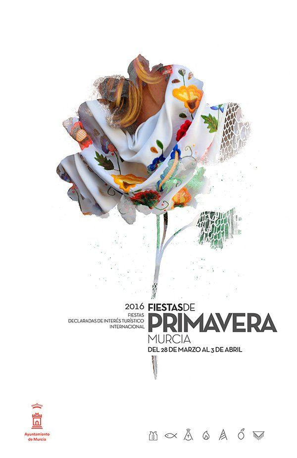 Cartel Fiestas Primavera Murcia 2016