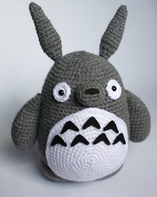 Totoro Amigurumi Ravelry : 121 best images about Crochet games & animes on Pinterest ...