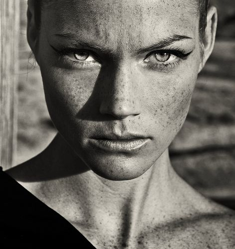 she is fierce and strong and beautiful.  Stunning photo