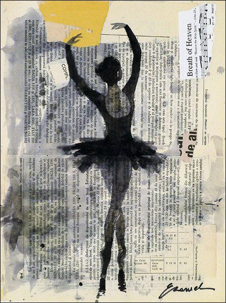 Inchiostro di stampa arte tela disegno di EmanuelArtStudio su Etsy