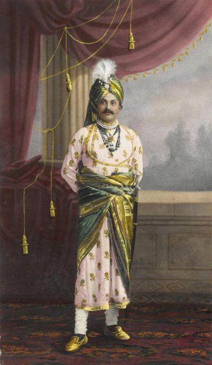 H.H. Maharajah Ranjitsinji Jam Saheb of Nawanagar, Kathiawad - 1907