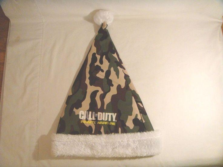 New Call of Duty Infinite Warfare Camo* Santa Elf Hat Holiday Promo | Video Games & Consoles, Video Game Merchandise | eBay!