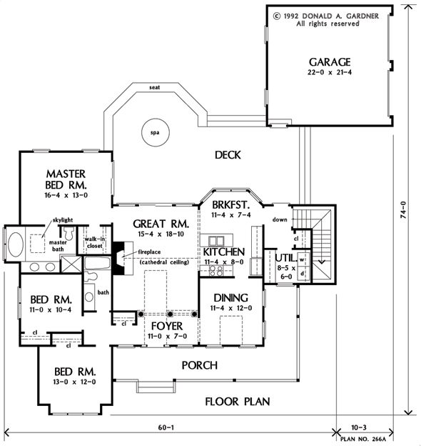 The meadowview house plan images see photos of don for Don gardner floor plans