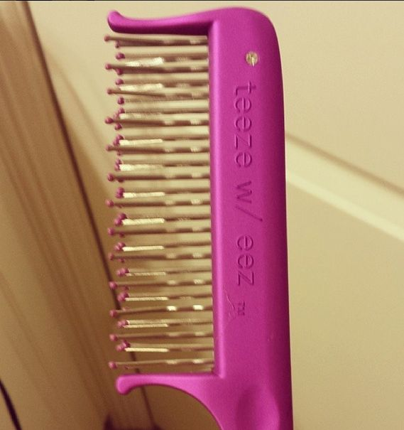 best teasing comb EVER! #teezweez Just got this and it works like a charm. Buy it!!!