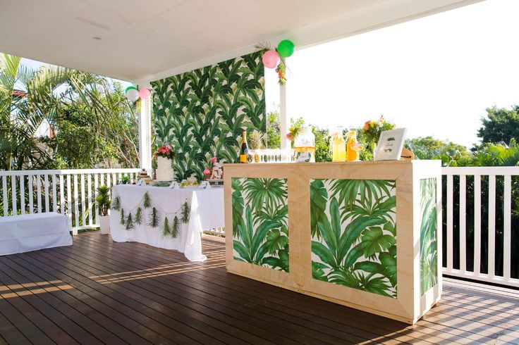 Gathering Events Mobile Bar Service Hire - Private Events Gathering Events, Pop Up Bar, Tropical Bar, BYO Brisbane