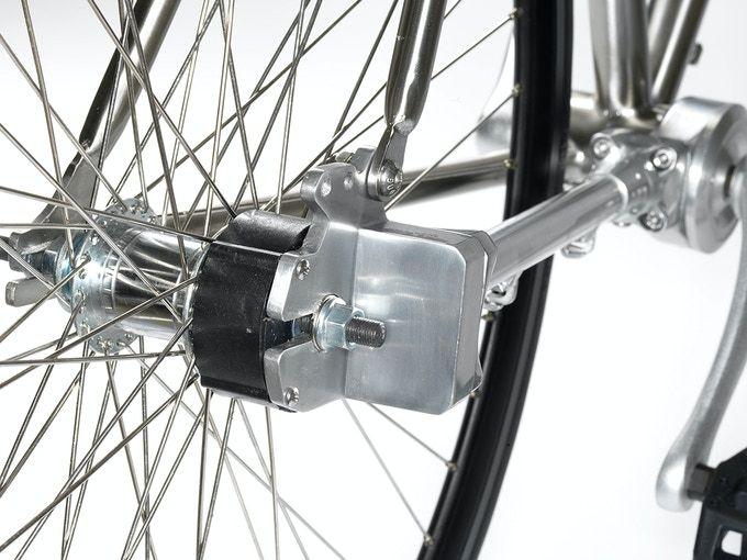 究極のメンテフリー パンクしない サビない チェーン切れない自転車 ギズモード ジャパン 自転車 パンク ピストバイク