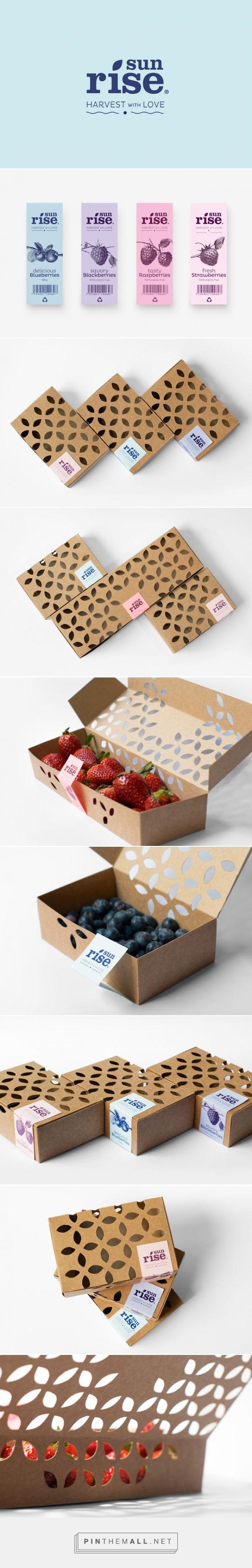 Sunrise #concept #fruits #packaging by Silvia Albertí, María Duriana Rodríguez & Diego Frayle - http://www.packagingoftheworld.com/2014/12/sunrise-student-project.html