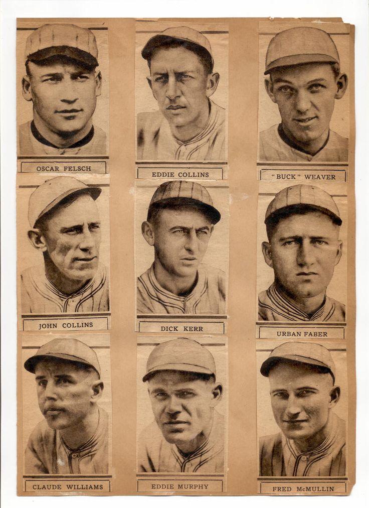 1919 white sox poster 2 1919 chicago black sox pinterest