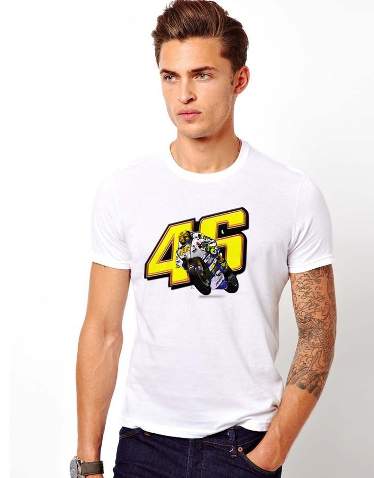Valentino Rossi | MotoGP Riders | Sports | Custom T Shirt Men and Women - RSBLVD