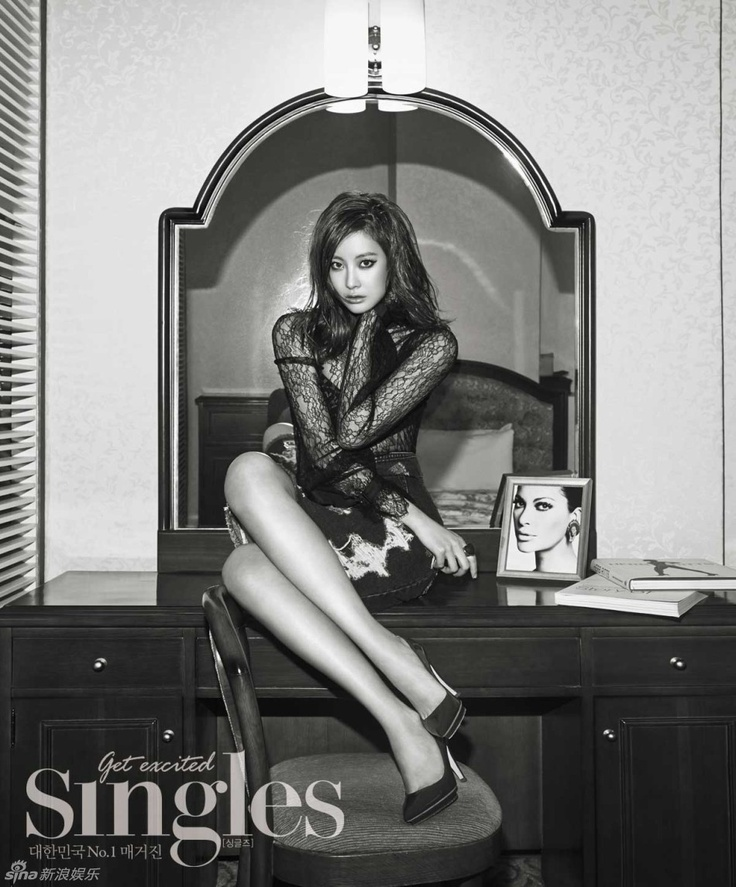 Oh Yeon-seo // Singles Korea // July 2013