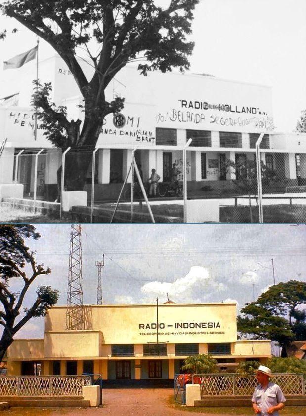 NV Radio Holland, jl Radio, Jakarta, 1950, ,., Radio Indonesia, jl Radio Dalam, Jakarta, 1960an