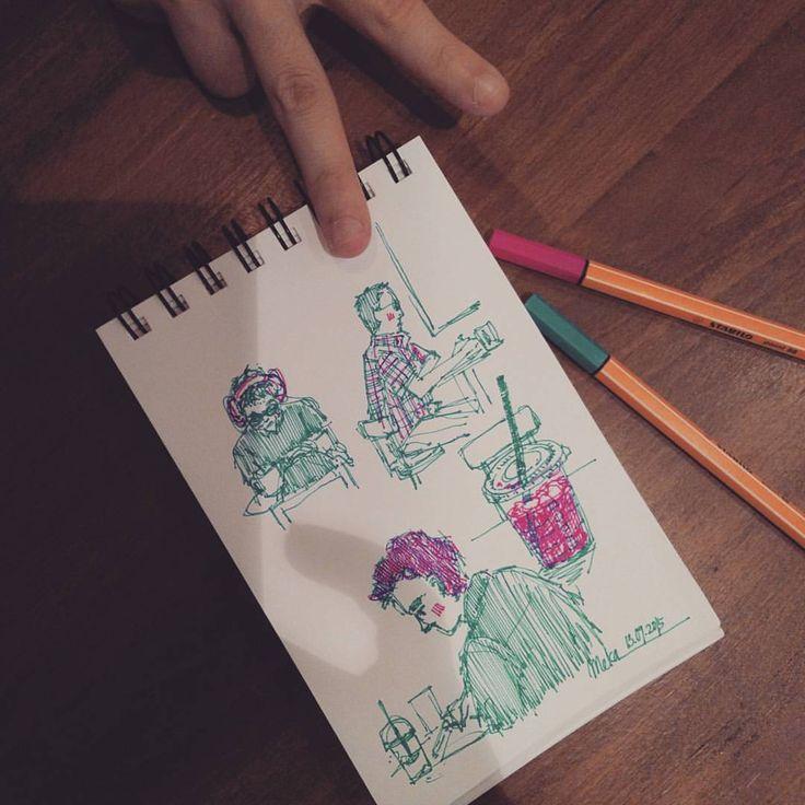 random #mekaworks #drawing