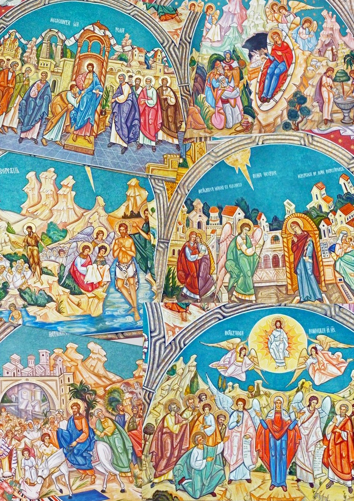 """Fresco painting in an Orthodox Church in Timisoara, Romania,"" by Anca Silvia B. - http://www.fotocommunity.com/pc/pc/display/18934999"