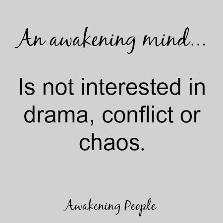 An Awakening Mind... is not interested in drama, conflict or chaos.