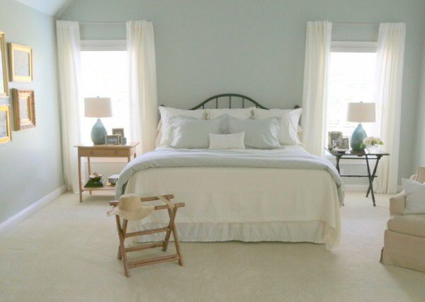 Best Blue Bedroom Images On Pinterest Master Bedrooms