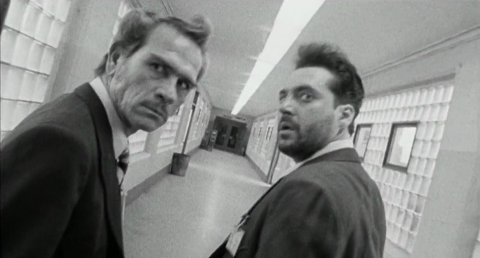 """""""Natural Born Killers"""" with Tom Sizemore and Tommy Lee Jones (by Oliver Stone - 1994 #sizemore , tueurs nés, Oliver Stone, #Tarantino"""