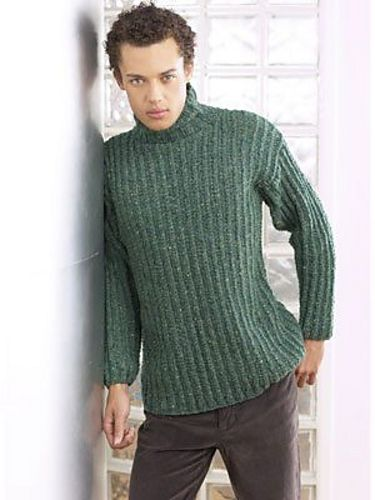 Ravelry: Project Gallery for Diesel Sweater pattern by Jane Ellison  Done in Russett for Conor