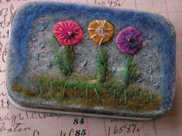 Kuvahaun tulos haulle needle felting embroidery