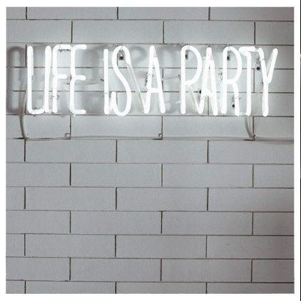 A vida é uma festa!