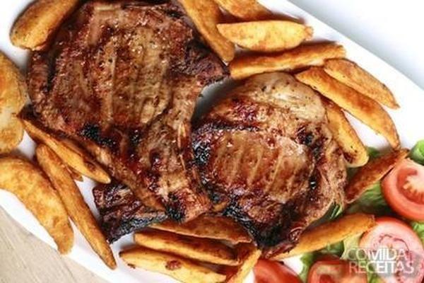 Receita de Bisteca frita em receitas de carnes, veja essa e outras receitas aqui!