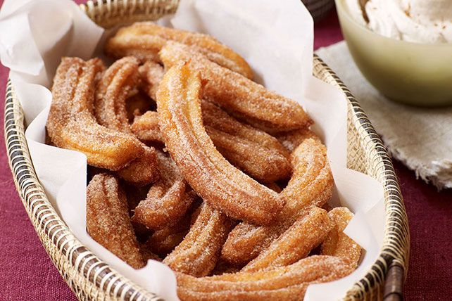 Our cinnamon churros recipe is the real deal, and the cooking video shows how easy it is to make this Mexican street-food fave.