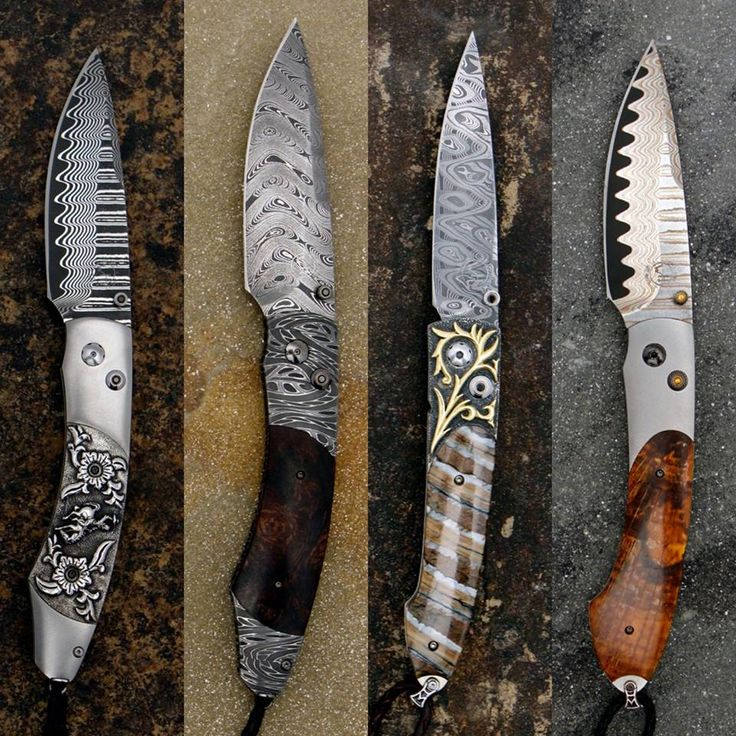 William Henry Knives available only in-store at Maverick Western Wear. For details us a call at 817-626-1129.