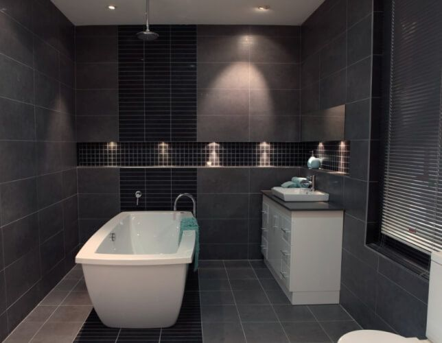 25+ Best Ideas About Small Grey Bathrooms On Pinterest
