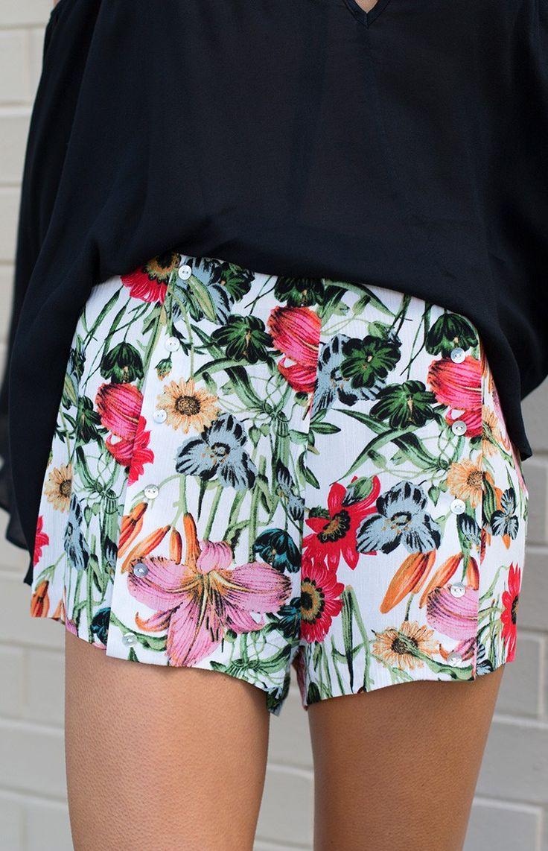 Somedays Lovin Bella Floral Flippy Shorts
