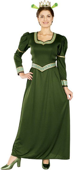 Adult Shrek Princess Fiona Costume - Candy Apple Costumes - Royal Costumes