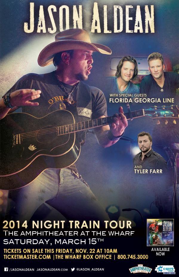 Jason Aldean Concert Tour