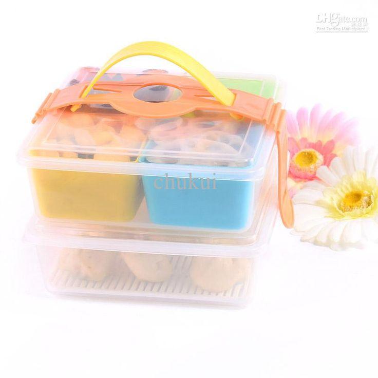 Wholesale sg 9818 boxes 6 piece set lunch box for Decor 6 piece lunchbox