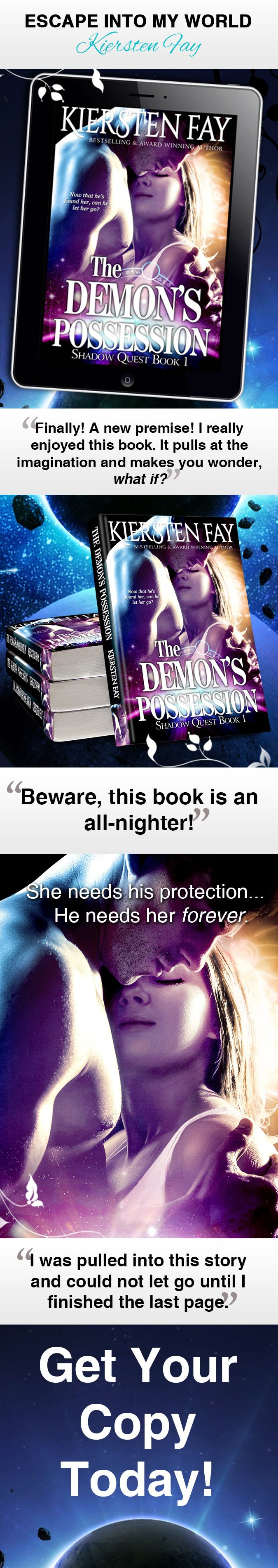 Get Your Copy Of The Demon's Possession Now!
