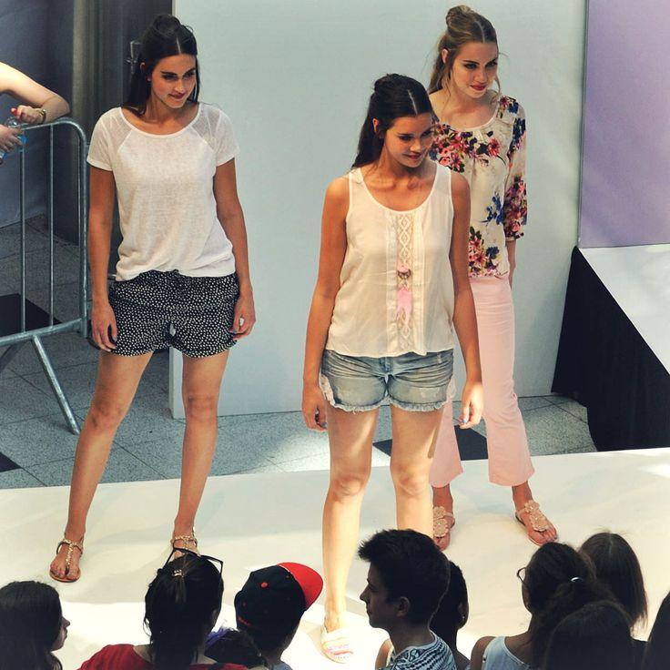 Gropius Berlin GNTM Models: Lisa, Darya und Katharina