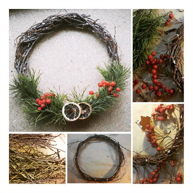 Express Christmas Wreath