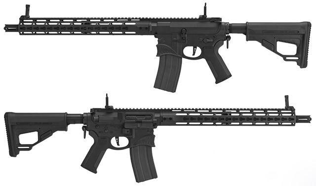"Ares x EMG Sharps Bros. M4 Hellbreaker ""Octa²rms"" Keymod 15"" EFCS AEG - Black #emg #hellbreaker #emghellbreaket #ares #airsoft #emgairsoft"