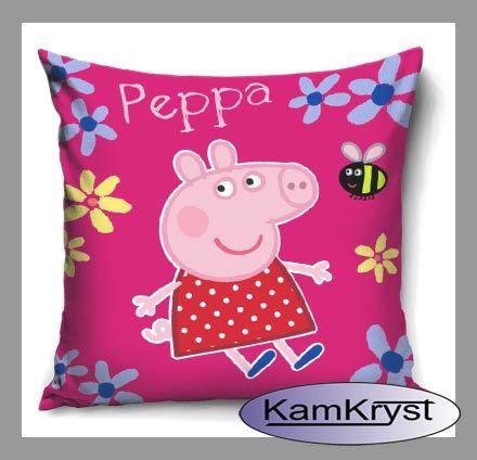 Nowy wzór poszewki dziecięcej ze Świnką Peppą - 100% bawełna
