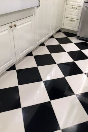 334 best flooring bob vila 39 s picks images on pinterest for Painting vinyl floor tile