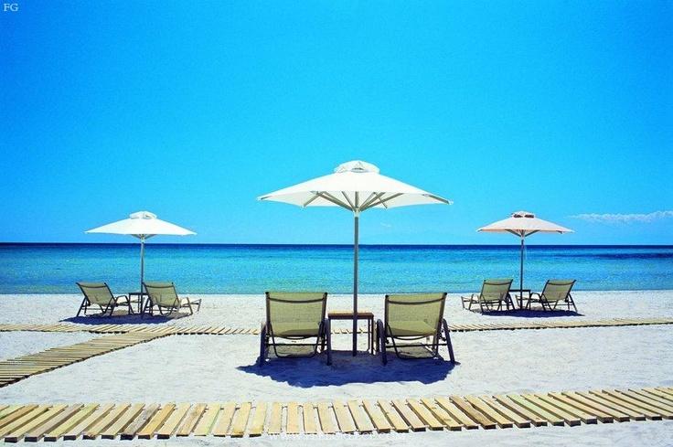 I miss this! - Sani Beach, Greece.