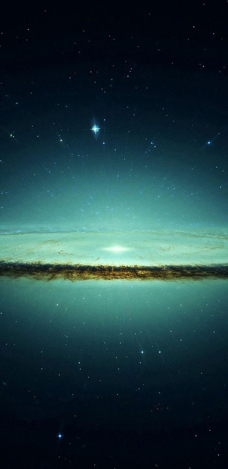 Dark, aurora, wallpaper, galaxy, tranquil, beauty, nature, night, sky, stars, Samsung, s8, galaxy s8