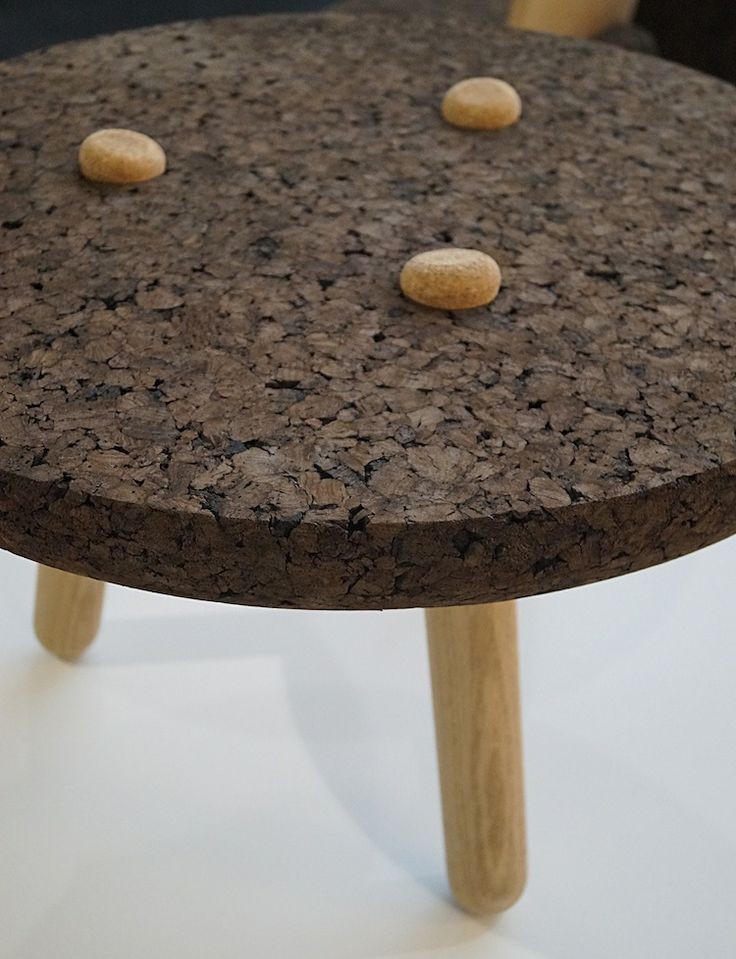 table basse design bois et liege d co projet pinterest design and tables. Black Bedroom Furniture Sets. Home Design Ideas