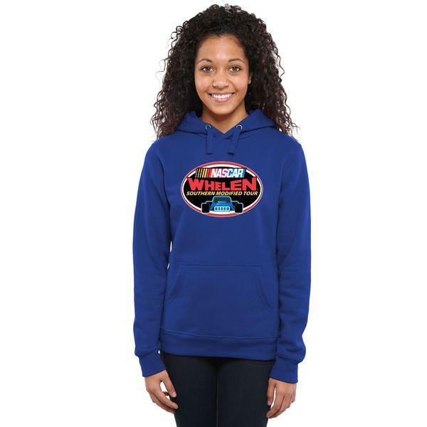 NASCAR Merchandise Women's NASCAR Whelen Southern Modified Tour Logo Pullover Hoodie - Royal - $49.99