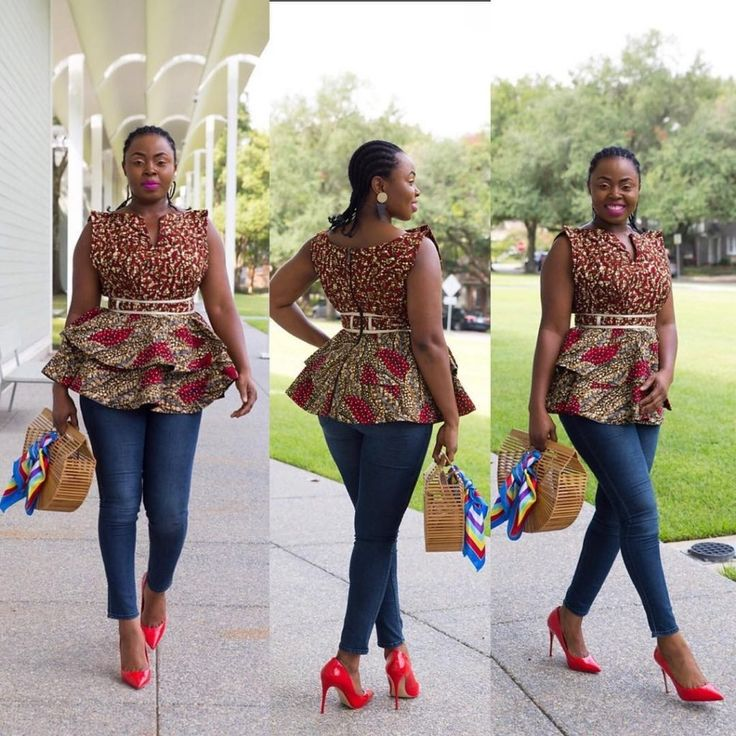 Yeah, it is another Ankara Fashion Weekend!In this season there are even more bright colors, quality fabrics, and unusual cuts!Years back, the best that could be achieved from Ankara cloth is the Iro and Buba. In the latest fashion trend, Ankara is sewn